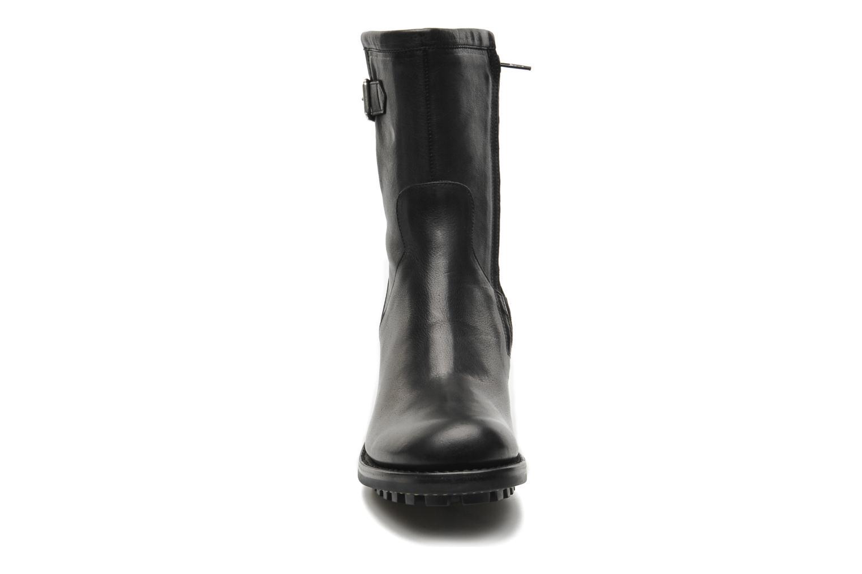 Bottines et boots Free Lance Biker 7 mini gero Noir vue portées chaussures