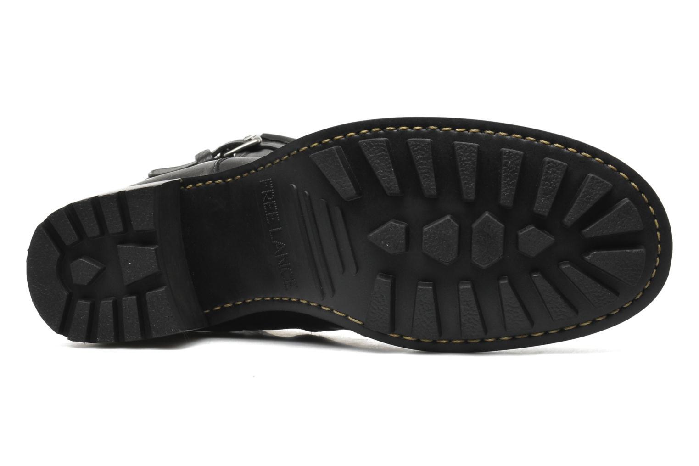 Bottines et boots Free Lance Biker 7 mini gero Noir vue haut