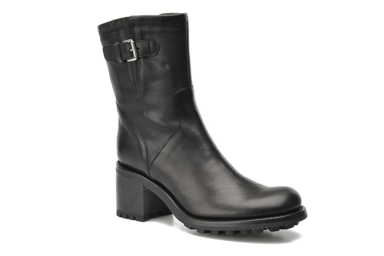 Bottines et boots Free Lance Biker 7 mini gero Noir vue détail/paire