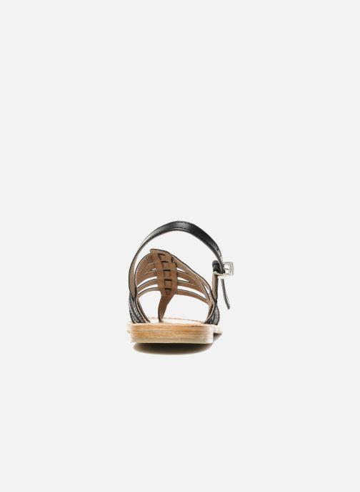Sandales et nu-pieds Les Tropéziennes par M Belarbi Herisson Noir vue droite