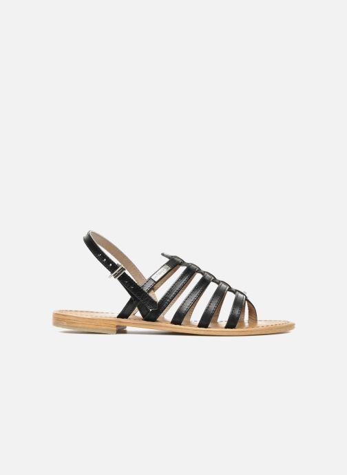 Sandales et nu-pieds Les Tropéziennes par M Belarbi Herisson Noir vue derrière
