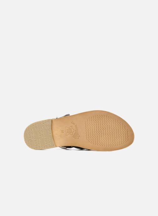 Sandales et nu-pieds Les Tropéziennes par M Belarbi Herisson Noir vue haut