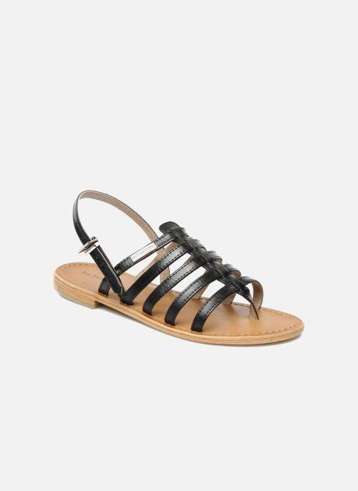 Sandales et nu-pieds Les Tropéziennes par M Belarbi Herisson Noir vue détail/paire