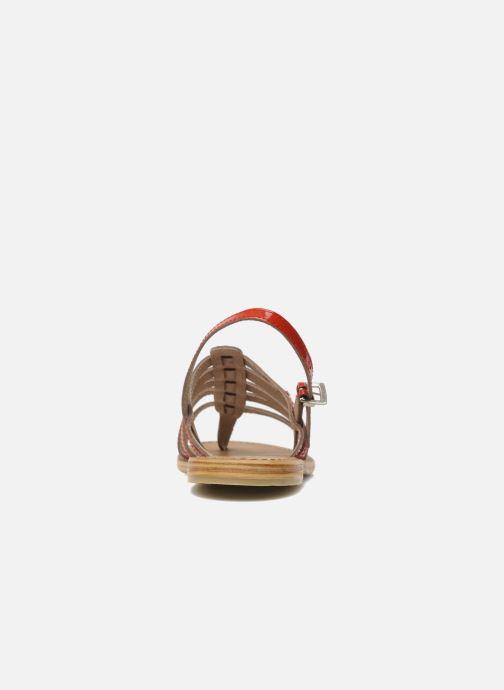Sandals Les Tropéziennes par M Belarbi Herisson Red view from the right