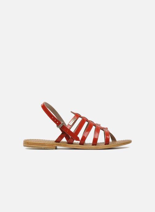Sandales et nu-pieds Les Tropéziennes par M Belarbi Herisson Rouge vue derrière