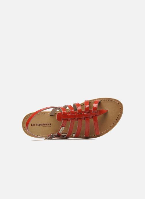 Sandales et nu-pieds Les Tropéziennes par M Belarbi Herisson Rouge vue gauche