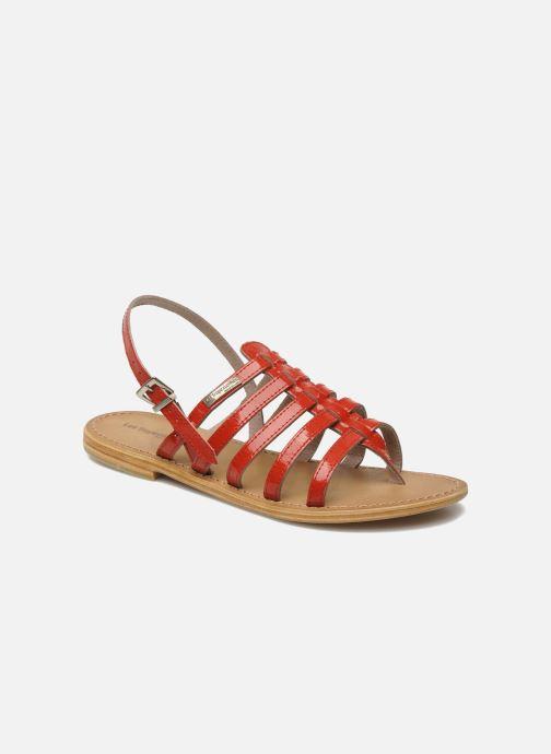 Sandales et nu-pieds Les Tropéziennes par M Belarbi Herisson Rouge vue détail/paire