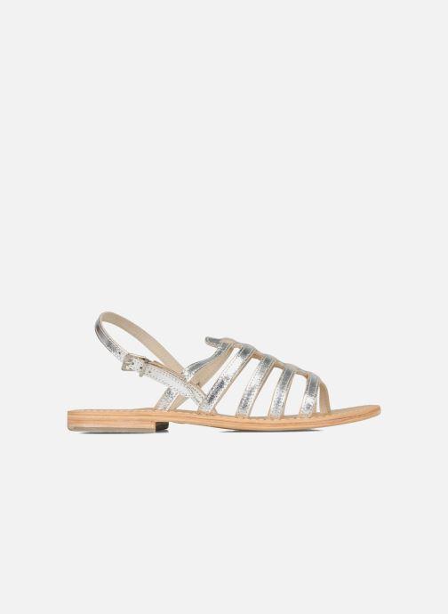 Sandales et nu-pieds Les Tropéziennes par M Belarbi Herisson Argent vue derrière