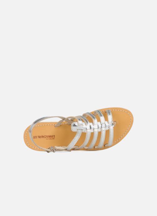Sandali e scarpe aperte Les Tropéziennes par M Belarbi Herisson Argento immagine sinistra