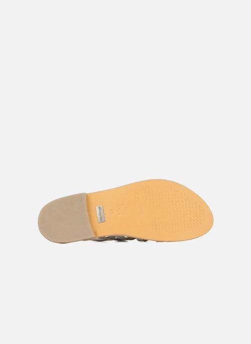 Sandales et nu-pieds Les Tropéziennes par M Belarbi Herisson Argent vue haut