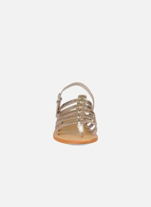 Sandalias Les Tropéziennes par M Belarbi Herisson Oro y bronce vista del modelo