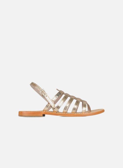 Sandals Les Tropéziennes par M Belarbi Herisson Bronze and Gold back view