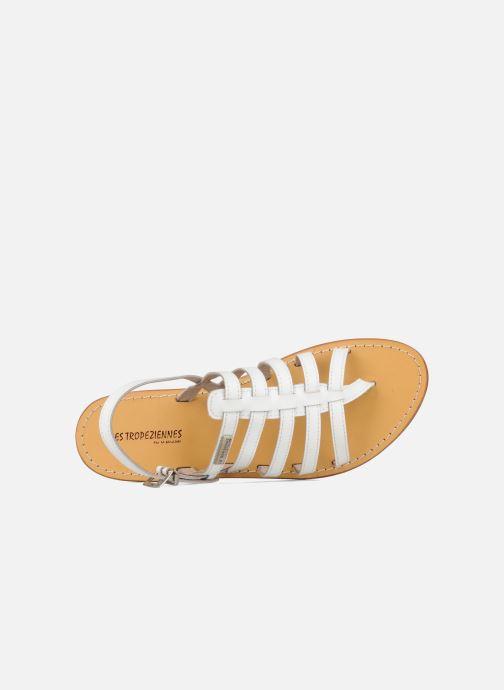 Sandales et nu-pieds Les Tropéziennes par M Belarbi Herisson Blanc vue gauche