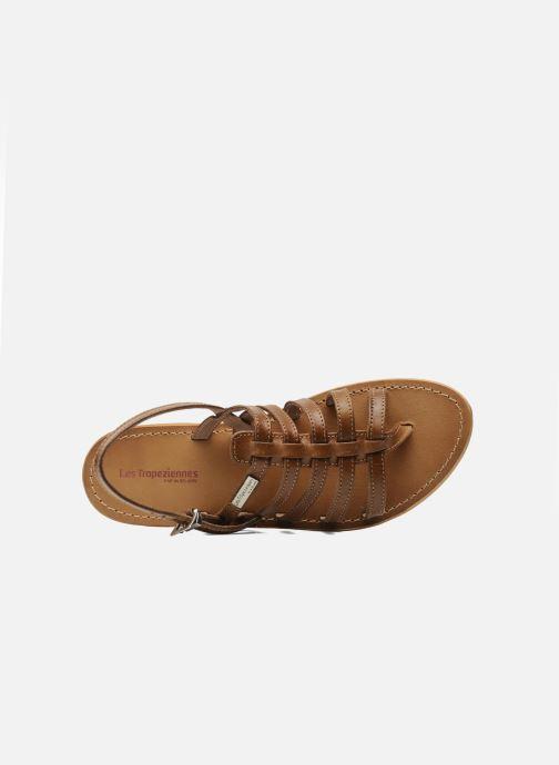 Sandales et nu-pieds Les Tropéziennes par M Belarbi Herisson Marron vue gauche