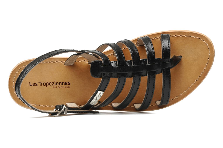 Sandales et nu-pieds Les Tropéziennes par M Belarbi Herisson Noir vue gauche