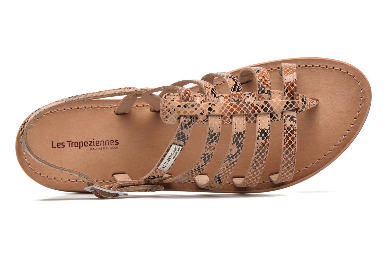 Sandales et nu-pieds Les Tropéziennes par M Belarbi Herisson Beige vue gauche