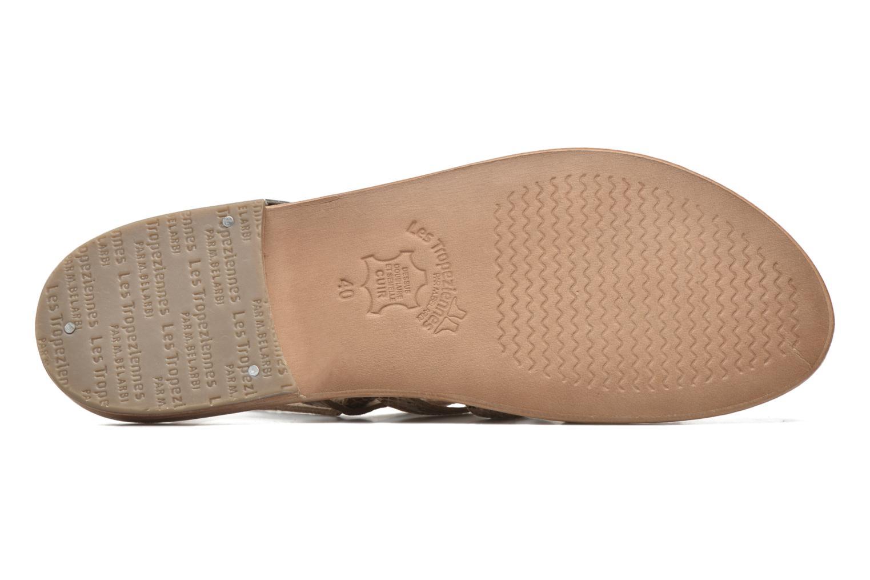 Sandales et nu-pieds Les Tropéziennes par M Belarbi Herisson Beige vue haut