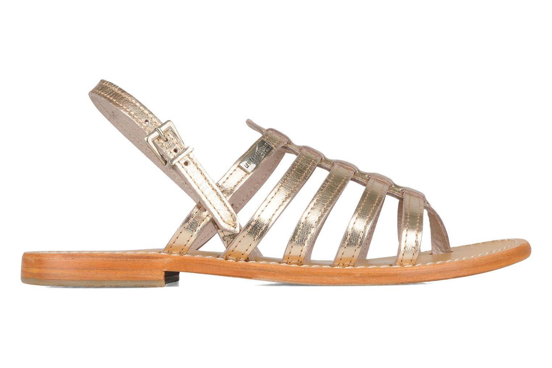 Sandales et nu-pieds Les Tropéziennes par M Belarbi Herisson Or et bronze vue derrière