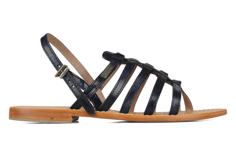 Sandales et nu-pieds Les Tropéziennes par M Belarbi Herisson Bleu vue derrière
