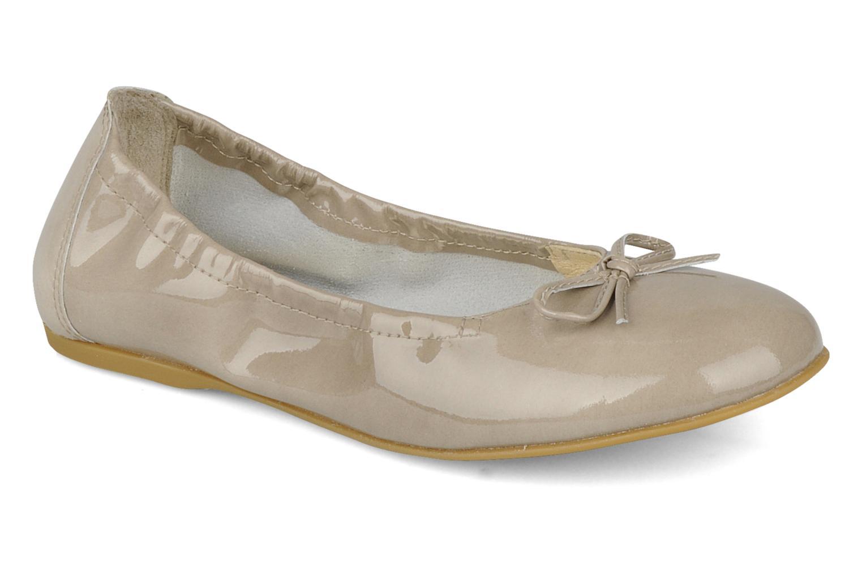 Ballerinaer Unisa Tresy Grå detaljeret billede af skoene