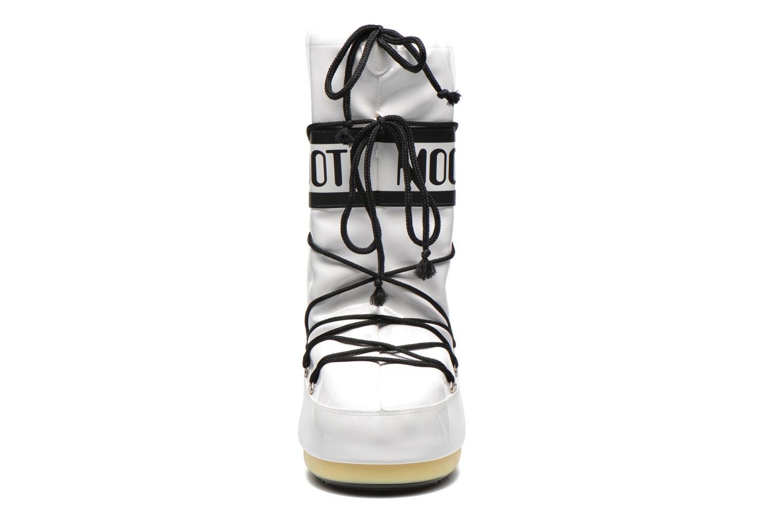 Chaussures de sport Moon Boot Vinil Blanc vue portées chaussures