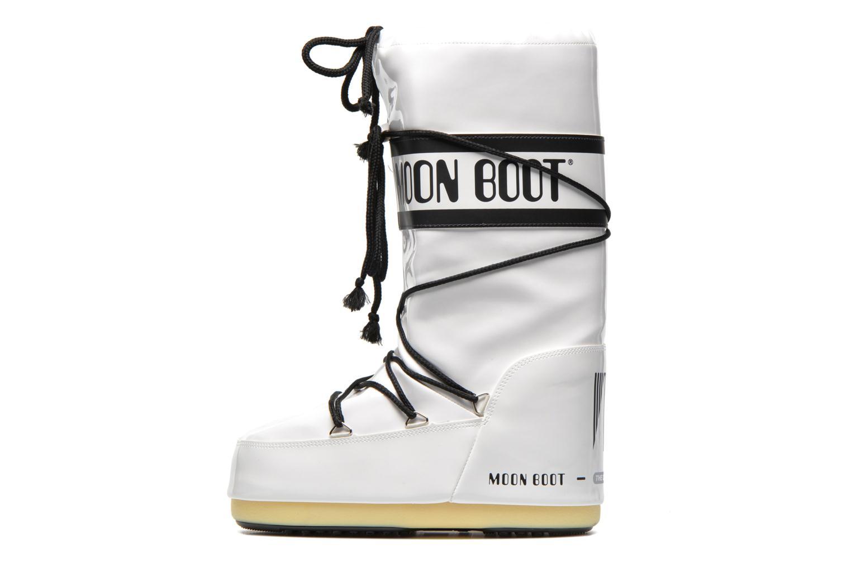 Chaussures de sport Moon Boot Vinil Blanc vue face