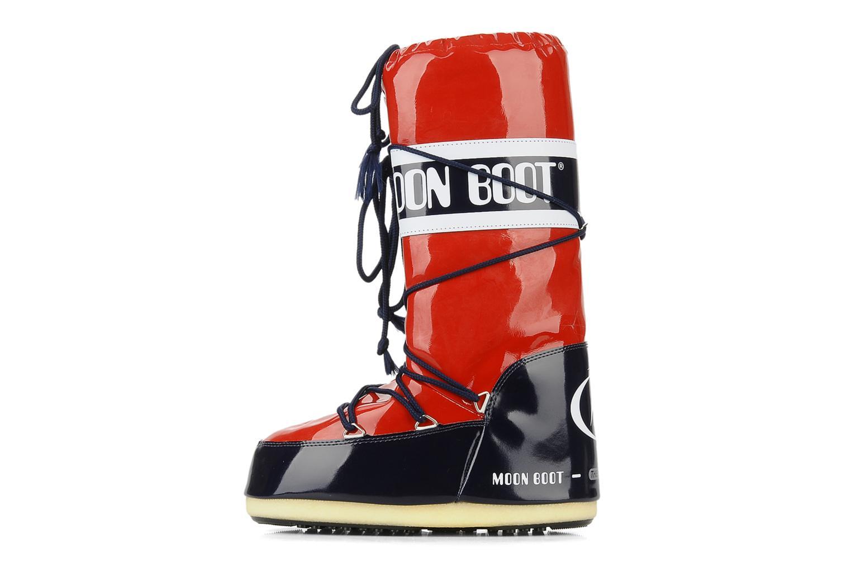 Chaussures de sport Moon Boot Vinil Rouge vue face