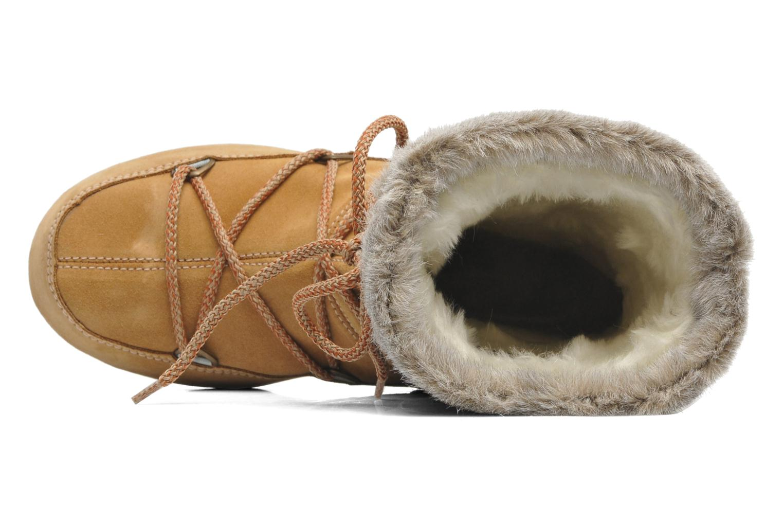 Bottines et boots Moon Boot Butter mid Marron vue gauche