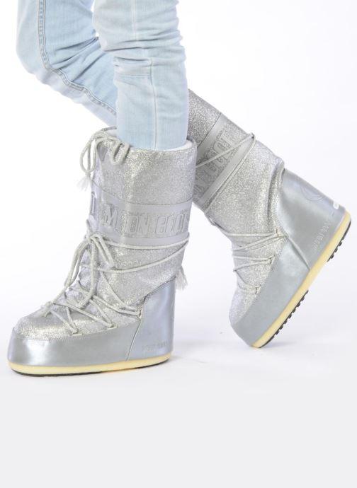 c73e7080578 Moon Boot Delux (Argent) - Bottes chez Sarenza (81806)
