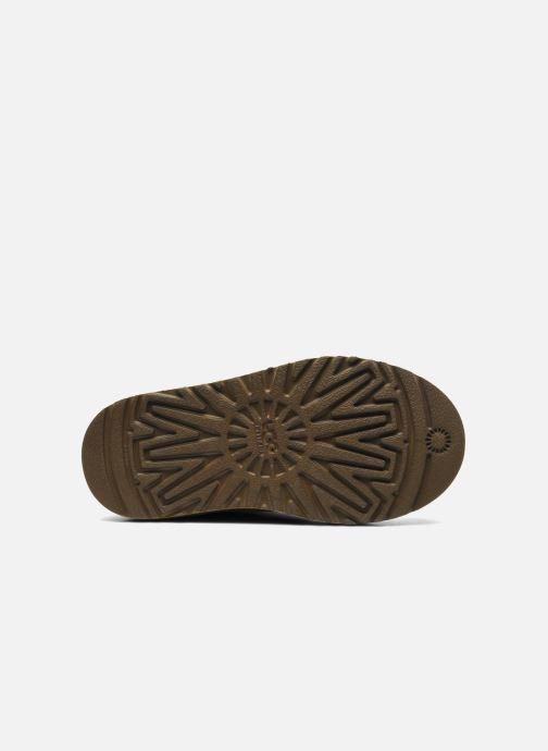 Stiefel UGG Kid's bailey button braun ansicht von oben