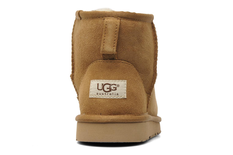 Bottines et boots UGG T-K Classic Mini Beige vue droite
