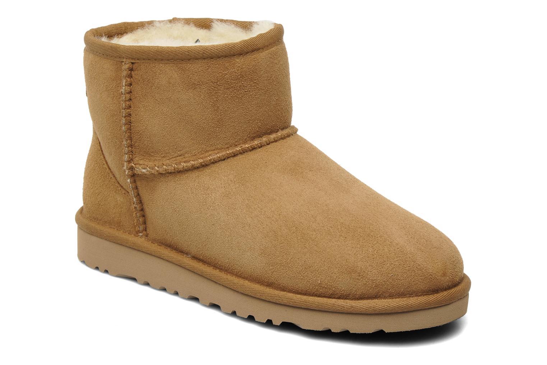 Bottines et boots UGG T-K Classic Mini Beige vue détail/paire