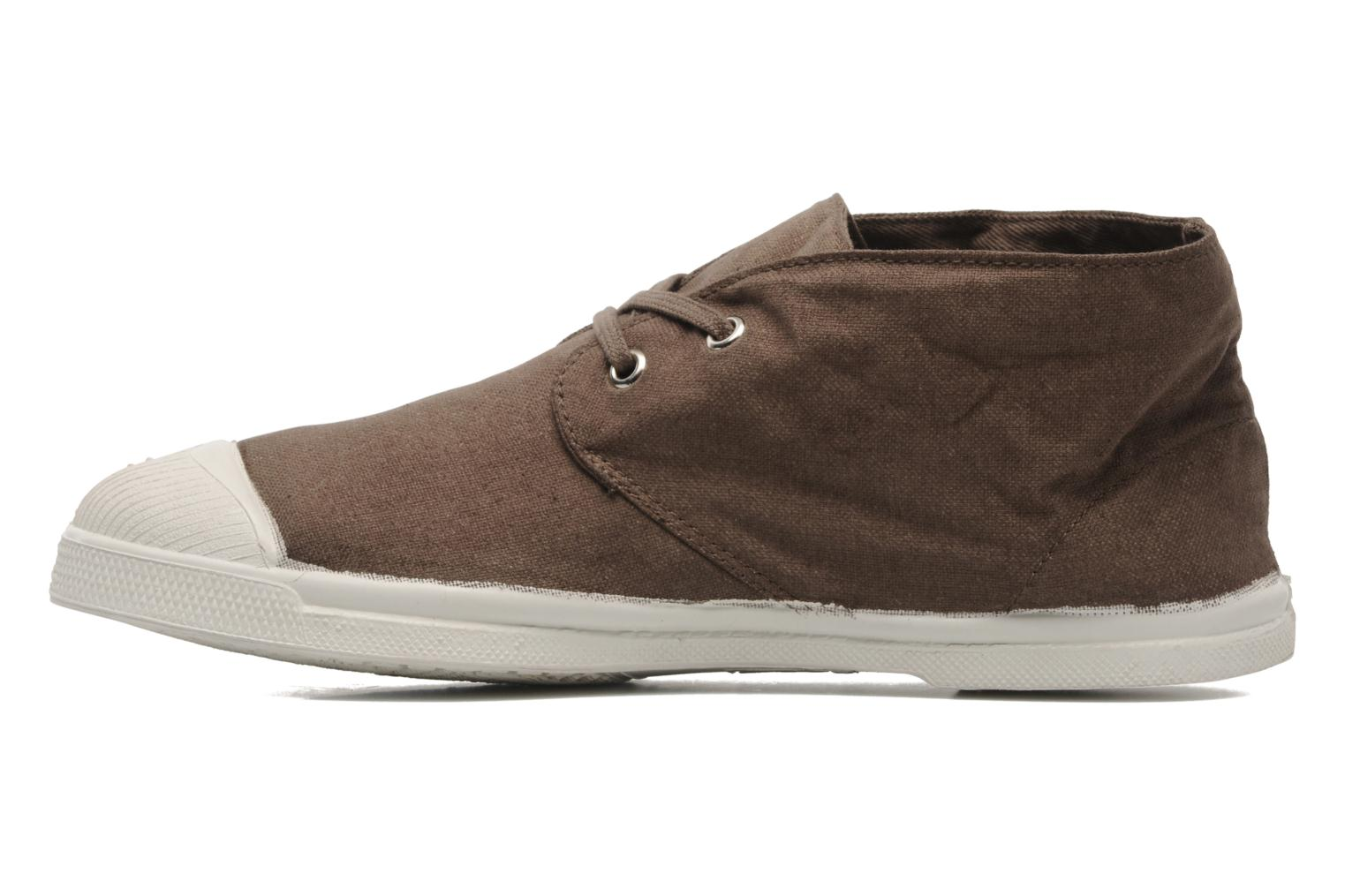 Baskets Bensimon Nils h Marron vue face