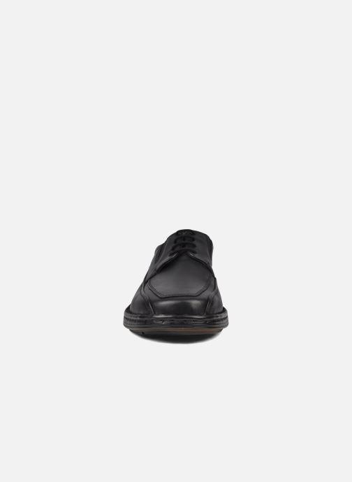 Schnürschuhe Josef Seibel Brian schwarz schuhe getragen