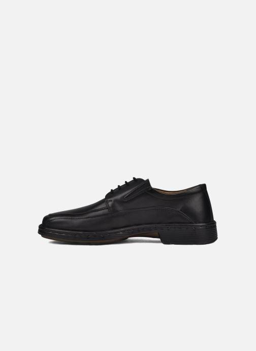 Chaussures à lacets Josef Seibel Brian Noir vue face