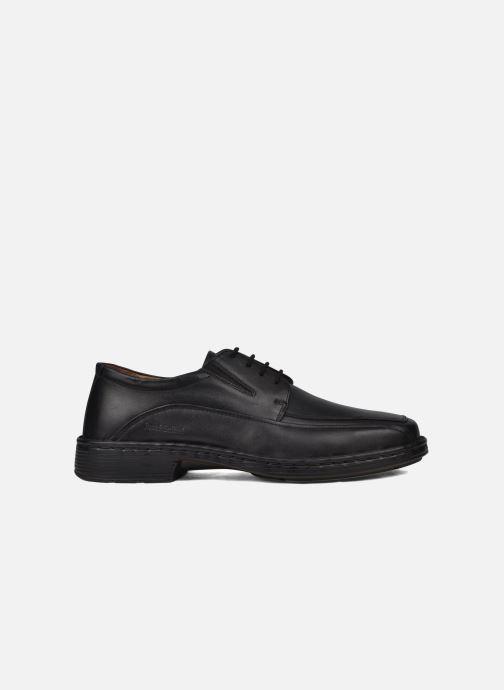 Chaussures à lacets Josef Seibel Brian Noir vue derrière