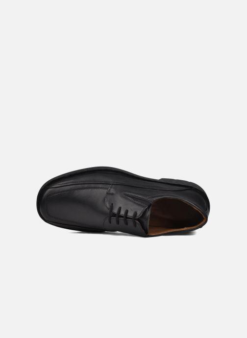 Zapatos con cordones Josef Seibel Brian Negro vista lateral izquierda
