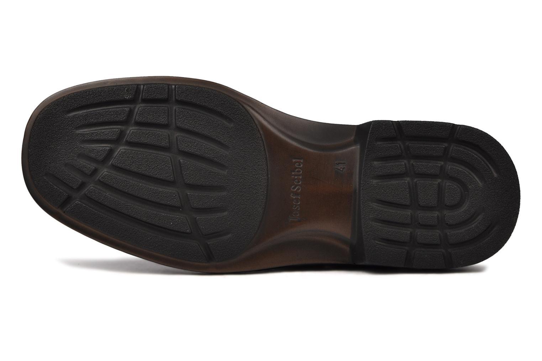 Chaussures à scratch Josef Seibel Bradfjord 06 Noir vue haut