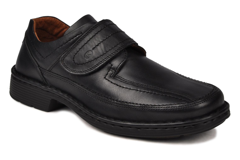Chaussures à scratch Josef Seibel Bradfjord 06 Noir vue détail/paire