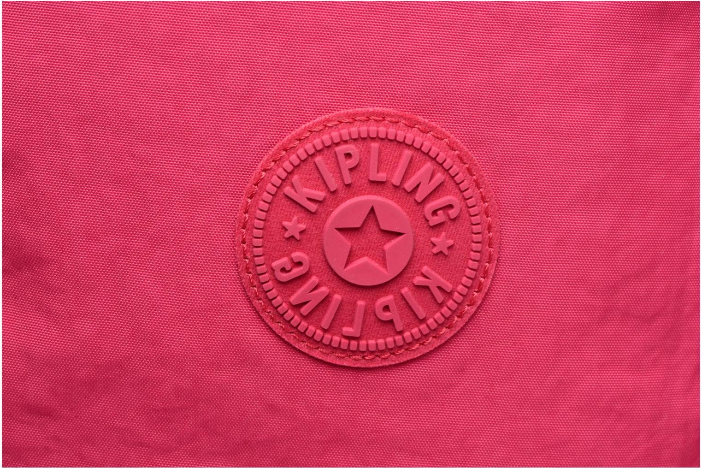 Reisegepäck kipling Teagan S rosa ansicht von links