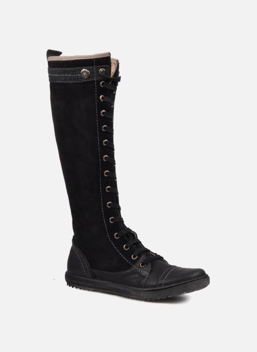 Støvler & gummistøvler Eliane & lena Eleonor Sort detaljeret billede af skoene