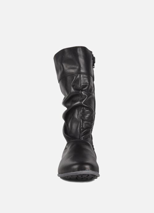 Sneaker Hip Basil schwarz schuhe getragen