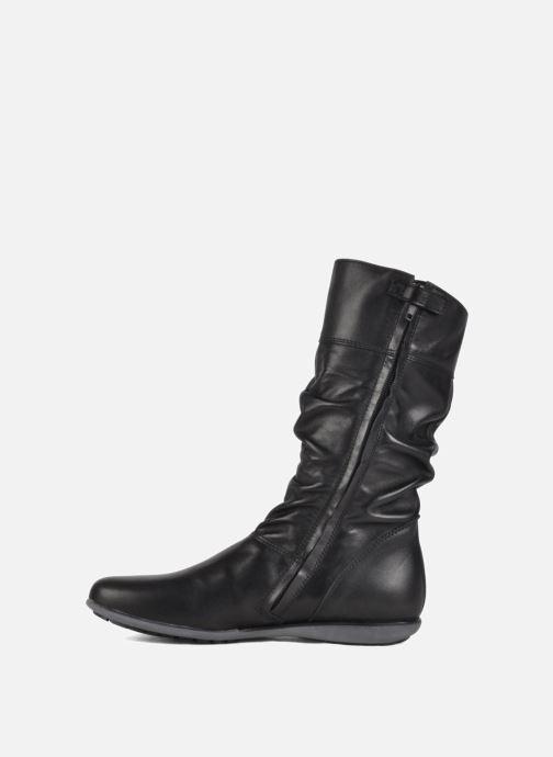 Sneaker Hip Basil schwarz ansicht von vorne