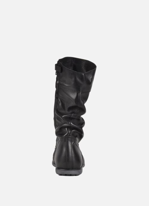 Sneaker Hip Basil schwarz ansicht von rechts