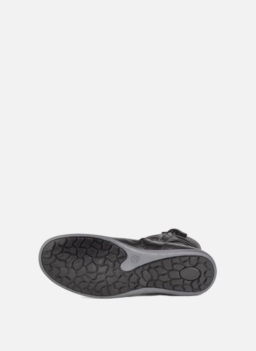 Sneaker Hip Basil schwarz ansicht von oben