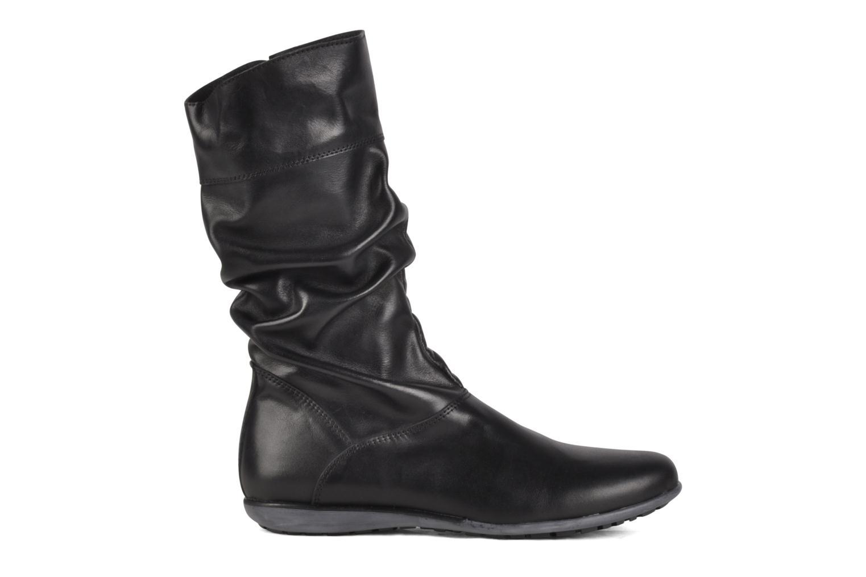 Sneaker Hip Basil schwarz ansicht von hinten