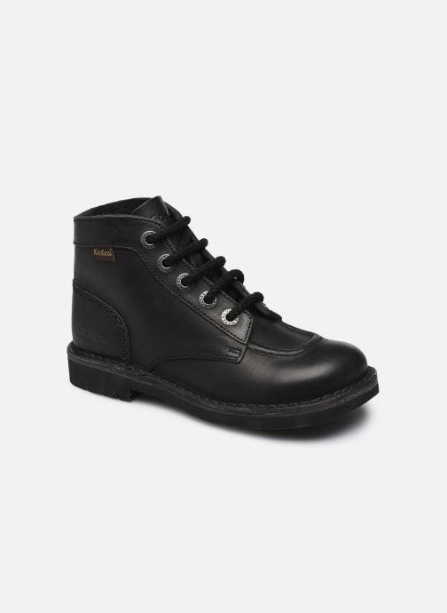 Zapatos con cordones Kickers Kick color perm Negro vista de detalle / par