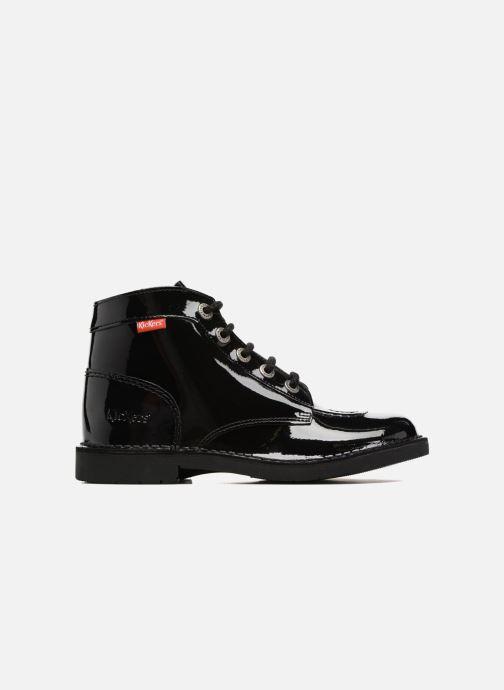 Chaussures à lacets Kickers Kick color perm Noir vue derrière