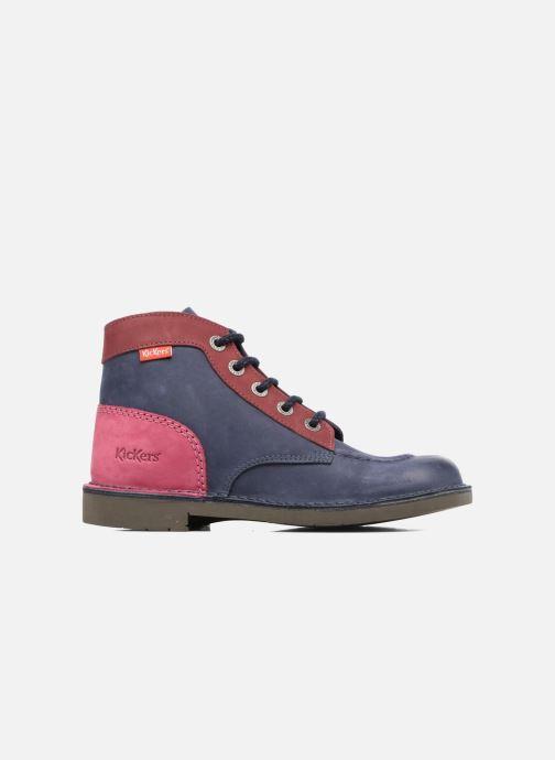 Kickers Kick color perm (Bleu) Chaussures à lacets chez