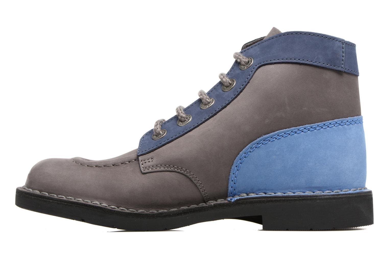 Chaussures à lacets Kickers Kick color perm Gris vue face